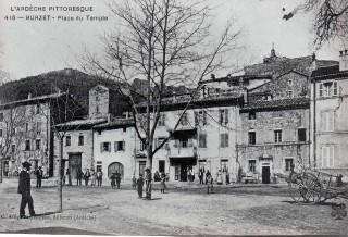 Images d'archives sur Burzet et ses habitants